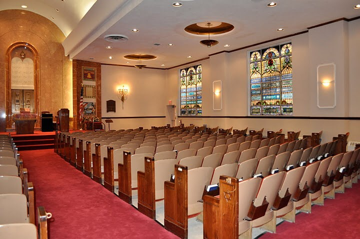 FJC Main Sanctuary Flatbush Jewish Center Kensington Brooklyn Conservative Synagogue